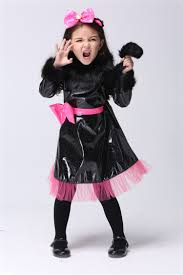Kids Cat Halloween Costumes Cheap Leather Costume Girls Kids Aliexpress