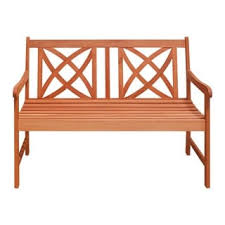 Wood Outdoor Bench Softcross 4 Foot Eucalyptus Wood Outdoor Garden Bench Free