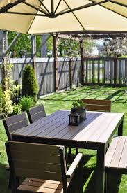 Build Outdoor Garden Table by Best 25 Ikea Outdoor Ideas On Pinterest Ikea Patio Porch