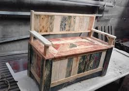 comment fabriquer un canapé en bois de palette 1001 idées pour fabriquer un banc en palette charmant