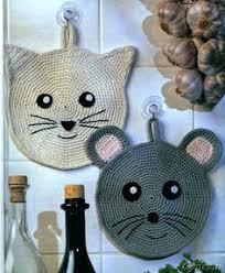 la cuisine au melina crochet superbes maniques pour la cuisine au crochet