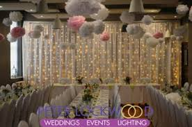 wedding backdrop fairy lights semi backdrop hire in manchester for weddings