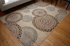 Area Throw Rugs Wool Blend Circles Area Rugs Ebay