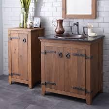 Single Bathroom Vanity by Native Trails Bordeaux Oak Antique Wet Bar Single Bathroom Vanity