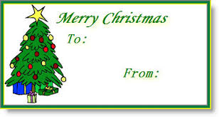 free printable christmas mailing labels make your own shipping lables