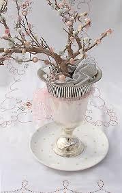 Photo Tree Centerpiece by Buttons U0026 Pearls Elegant Cherry Blossom Tree Centerpiece