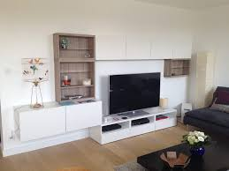 floating cabinets living room living room ordinary modern style living room part ikea besta