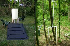 Outdoors Shower - guest blog indie is the new green by jessica gonacha solar