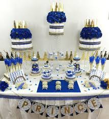 royal blue and gold baby shower decorations prince baby shower decorations graceful royal candy buffet