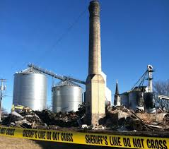 freeport residents stunned by swany white flour fire minnesota