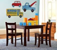 My Barn Child Pottery Barn Child U0027s Room Table Chairs And Truck Wall Decals