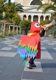Baby Parrot Costumes Halloween Children Parrot Costume Kids Bird Dress Wings Mask