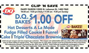dairy queen coupon lebanon ice cream restaurants coupons 46052