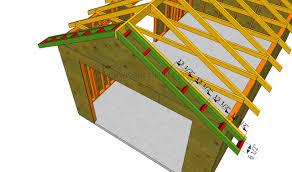 installing the overhangs home ideas pinterest garage roof