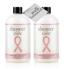 well balanced kit charity shower gels philosophy makeover