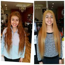 cut before dye hair before and after hair color correction san francisco makeup