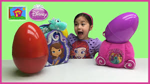 easter eggs surprises sofia the easter egg basket disney princess egg