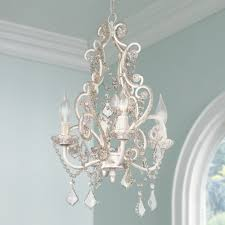 Tadpole Chandeliers by Leila White Clear Swag Plug In Chandelier Amazon Com