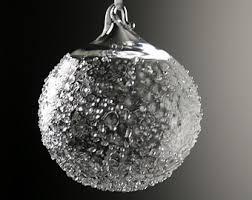 blown glass ornament etsy
