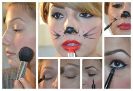 elements of fun easy cat halloween makeup elements of fakery
