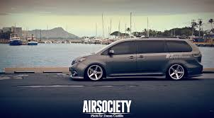 toyota sienna europe the slam van airsociety