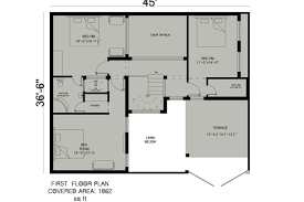 house floor plan by 360 design estate 7 5 marla house