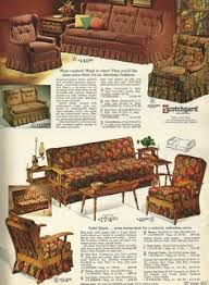 Living Room Chairs With Arms Vintage Late 70 S Real Wood Frame Cushion Printed Retro