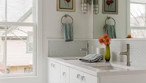 Penny Tile Kitchen Backsplash by Modern Penny Tile Bathroom Floorjpg Modern Penny Tile Bathroom