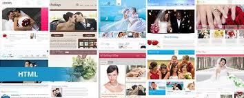Wedding Website Free 19 Free Wedding Html Website Templates Templatemag