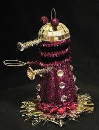 doctor who ornament set twelvth dr master dalek doctor who