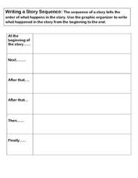 use this free sequence worksheet as an assessment to see how well