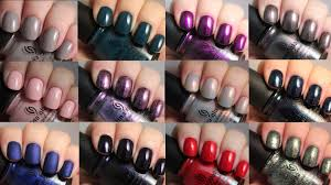 china glaze rebel collection live application review youtube