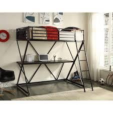 Bunk Bed Concepts 4d Concepts Zinnia Metal Loft Bed 14451 The Home Depot