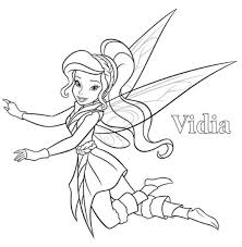 vidia fairy coloring pages 24 pixie hollow images