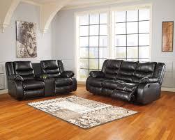 Reclining Living Room Sets Buy Ashley Furniture Linebacker Durablend Black Reclining Living