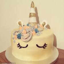 design a cake unicorn cakes the birthday cake trend daily mail online