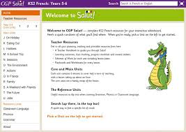 salut ks2 french interactive whiteboard resources years 5 6