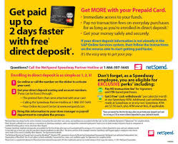 prepaid cards with direct deposit ftc says netspend decked consumers with deceptive claims for