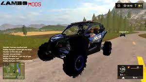 maverick police car v1 0 mod farming simulator 17 2017 mod