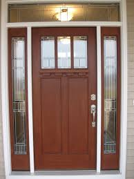 modern exterior doors with sidelights contemporary front doors