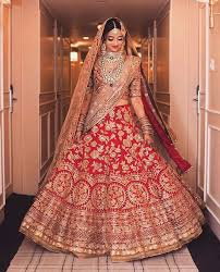 bridal wear a can never go wrong with traditional shades of and gold