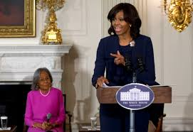 michelle obama u0027was mad u0027 watching biopic about jackie robinson