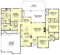 european style house plan 4 beds 2 50 baths 2506 sq ft plan 430 103