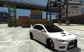 evo 10 mitsubishi lancer evo x v 1 0 for gta 4
