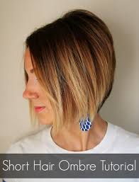 ombre for shorter hair short hair ombre tutorial how to do ombre at home one little momma