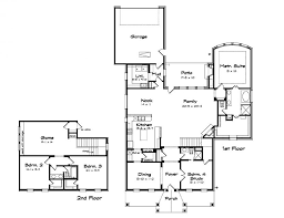home plans with large kitchens best floor plan for families cool house modern family home plans