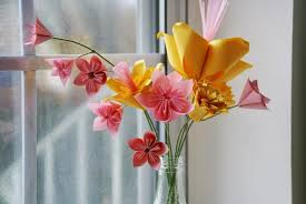 Vase Deco Origami Flower Fold U2013 7 Ideas With Folding Instructions For