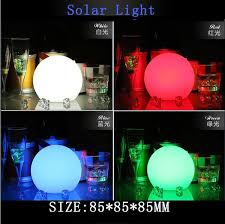 floating led pool lights 2pcs solar floating led light colorful pond ball led pool light