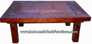 Rustic Teak Coffee Table Teak Wood Coffee Table