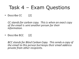 How Does Blind Carbon Copy Work Lesson Objectives By The End Of The Lesson You Will 1 Be Able To